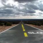 Начат проект шоссе с солнечными батареями и светодиодами