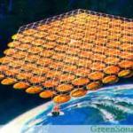 Космическая электростанция, работающая на солнечной энергии