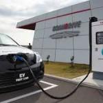 Сеть АЗС для электромобилей построят в США