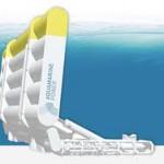Экологичное устройство для использования энергии рек и ручьев