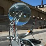 Сбор солнечной энергии с помощью шара