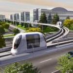 Экологически чистый общественный транспорт с футуристическим дизайном появился в ОАЭ