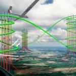 Появился проект высотной ветроэлектростанции
