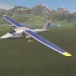 Круглосуточный полет на самолете с солнечными батареями