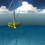 Плавающий вертикально-осевой ветряк от французских производителей