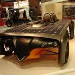 Новый сверхскоростной солнцемобиль для гонок